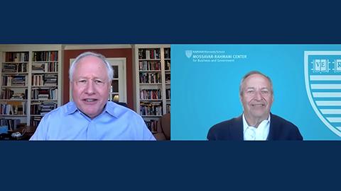 Larry Summers interviewed by Bill Kristol